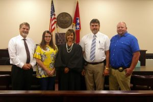 Officials Recently Sworn In – Jackson County Sentinel